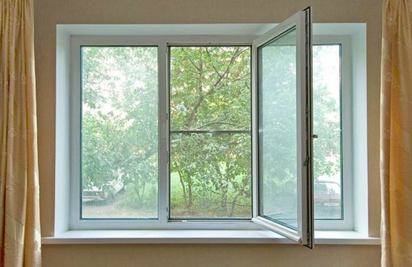 Пластиковые окна зимняя установка