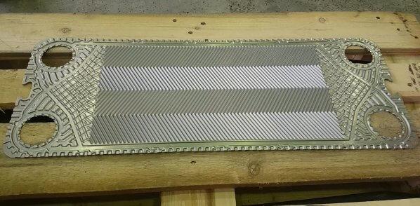 Готовые пластины для теплообменника