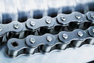 Особенности выбора конвейерных цепей роликового типа