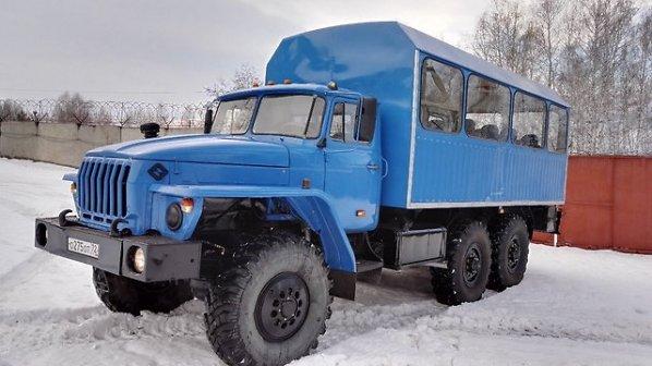 Вахтовые автобусы Урал, Камаз